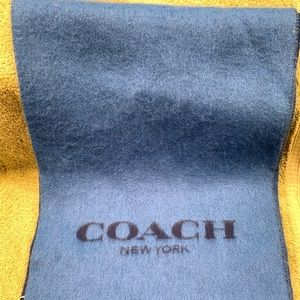 Men's Coach Winter Scarf